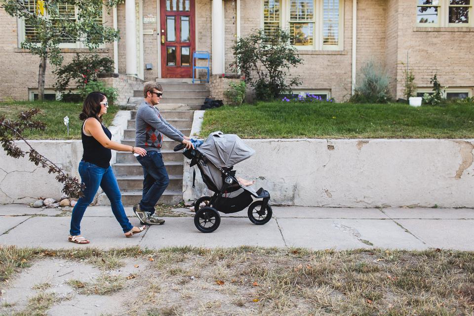 family strolling to the park denver colorado