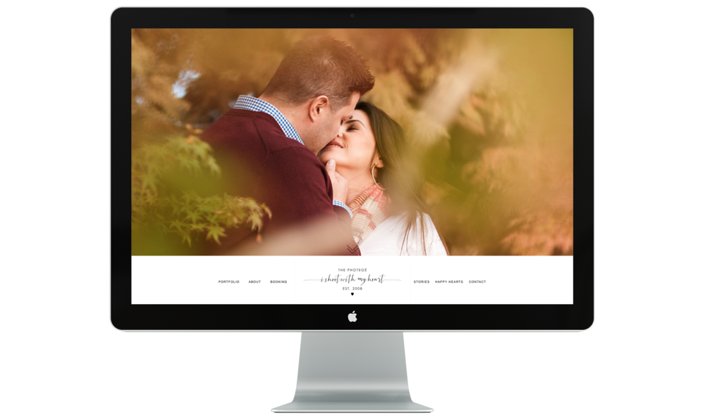 Marsha, The Photoge, was one of my first copywriting clients. I was so humbled to be entrusted with all the copy for her wedding site and I'm thrilled with what we came up with.