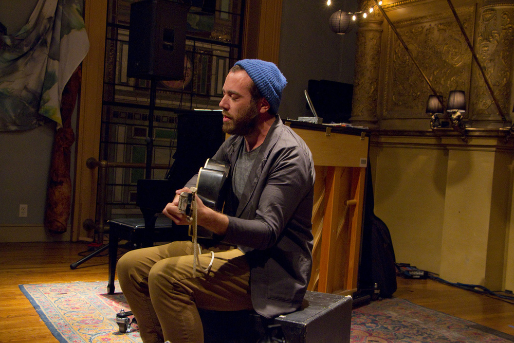 David Moore at Bailout Theatre, Judson Memorial Church