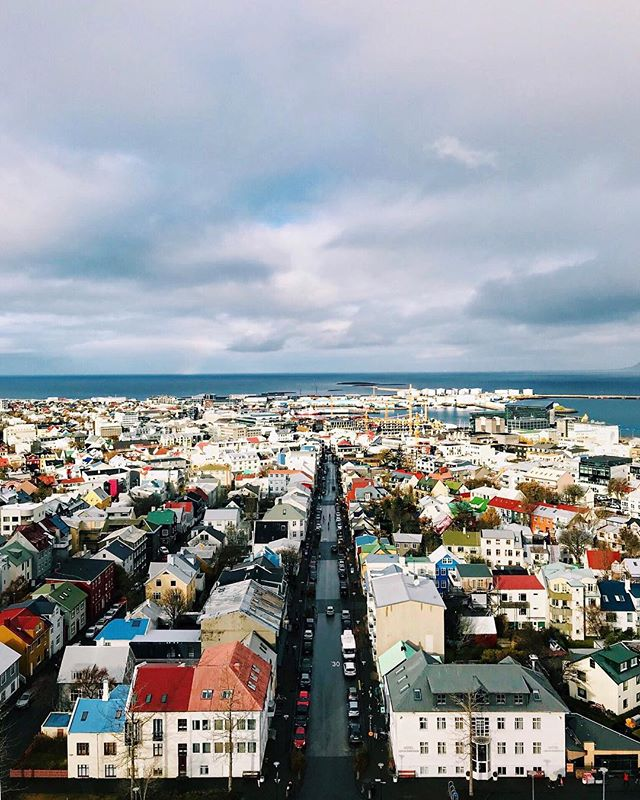 Oh, what a colorful quirky little city you are! ❤️🇮🇸