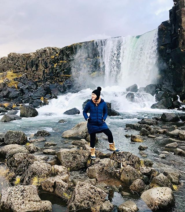 Don't go chasing waterfalls, unless you're in Iceland 🖤
