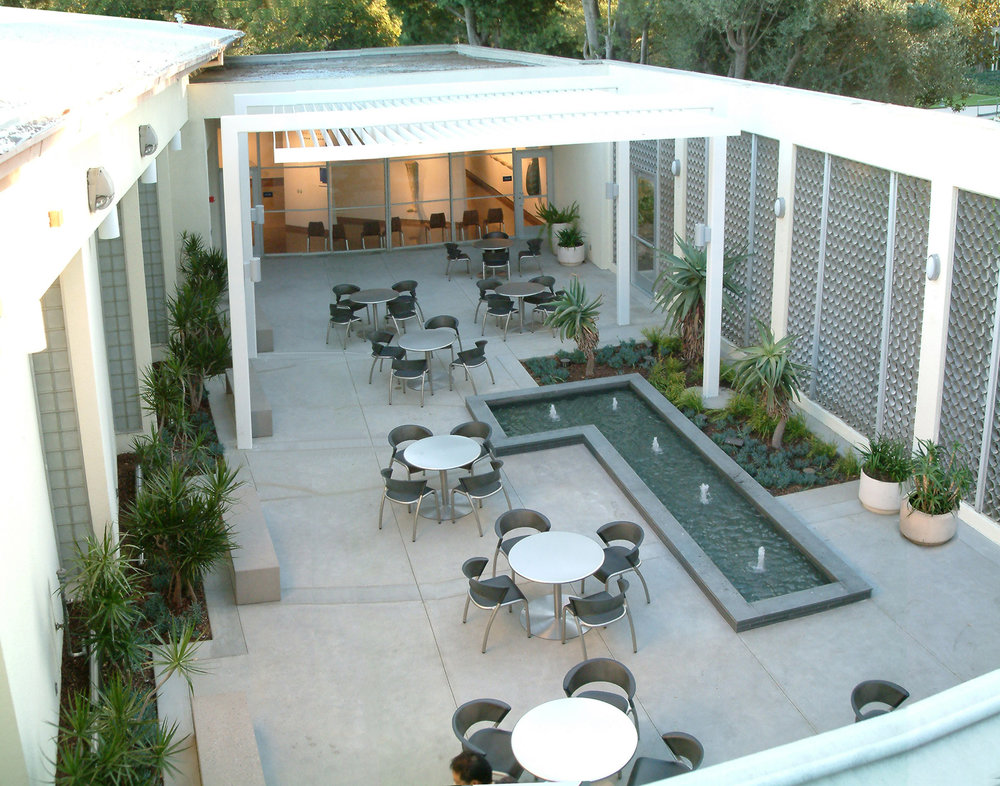 LACCD Valley College Arts Courtyard