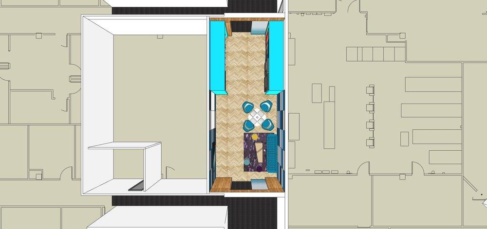The Gallery floor plan
