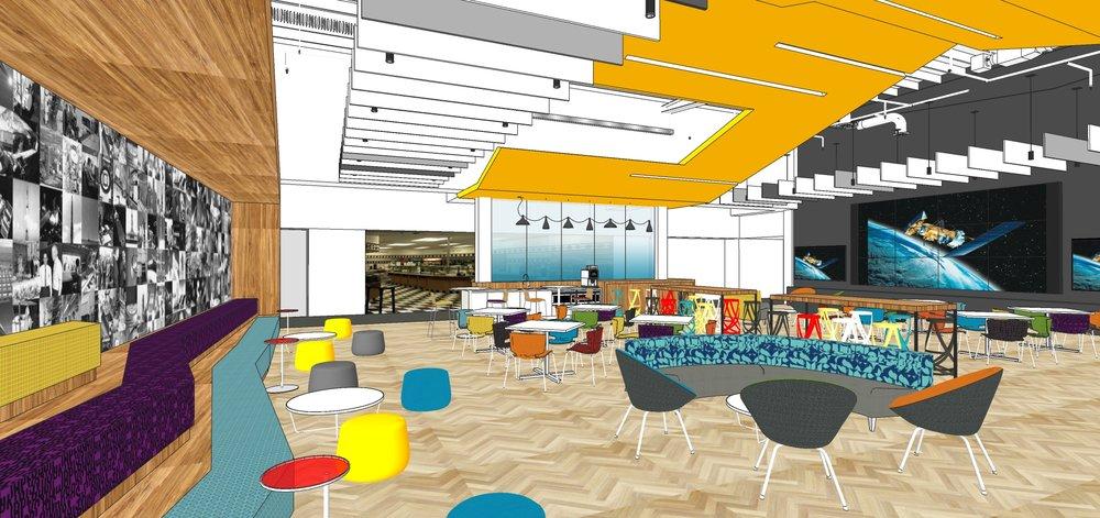 The Lounge, option A.