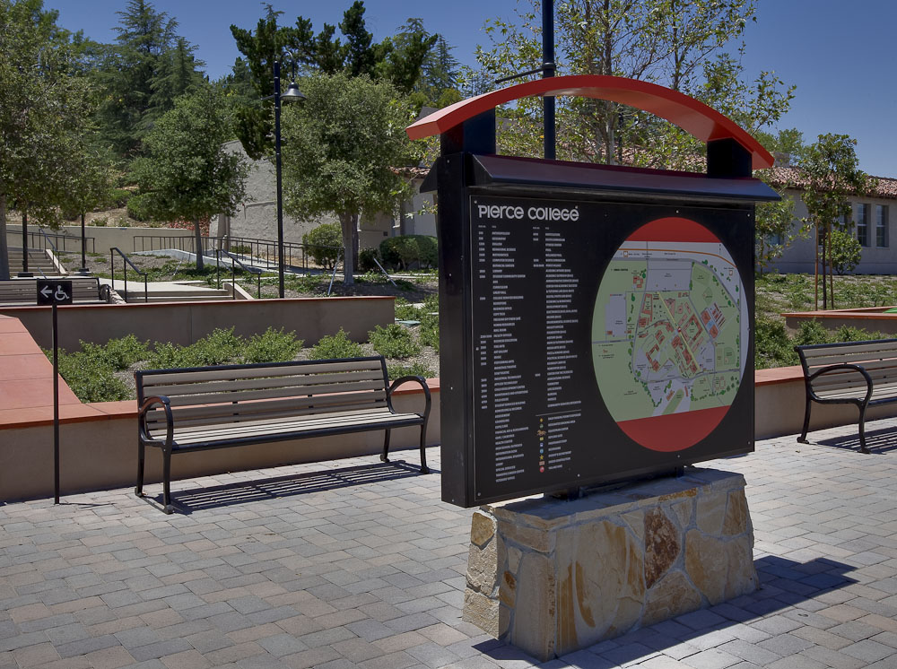 Pierce College Wayfinding