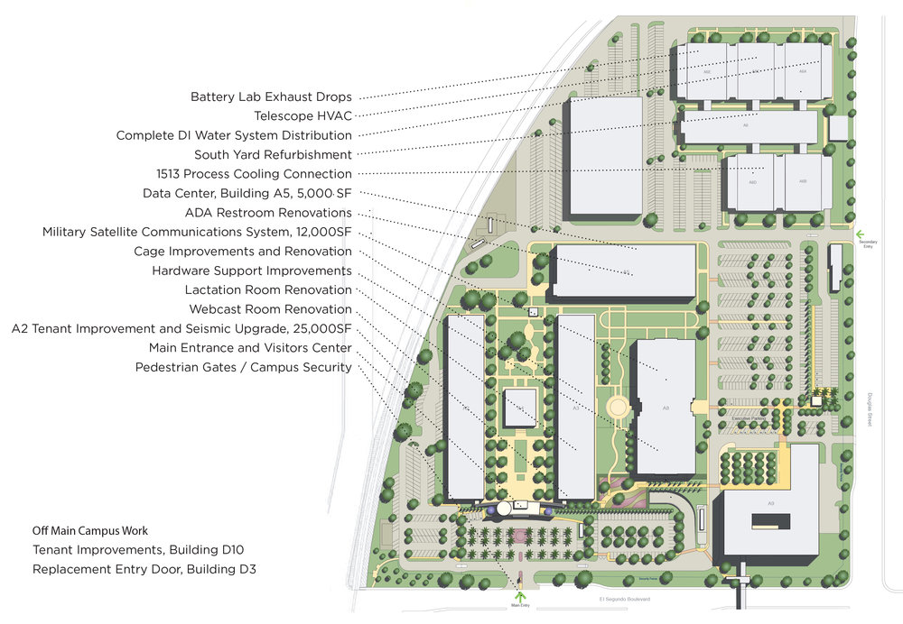 Engineering Company Campus Improvements