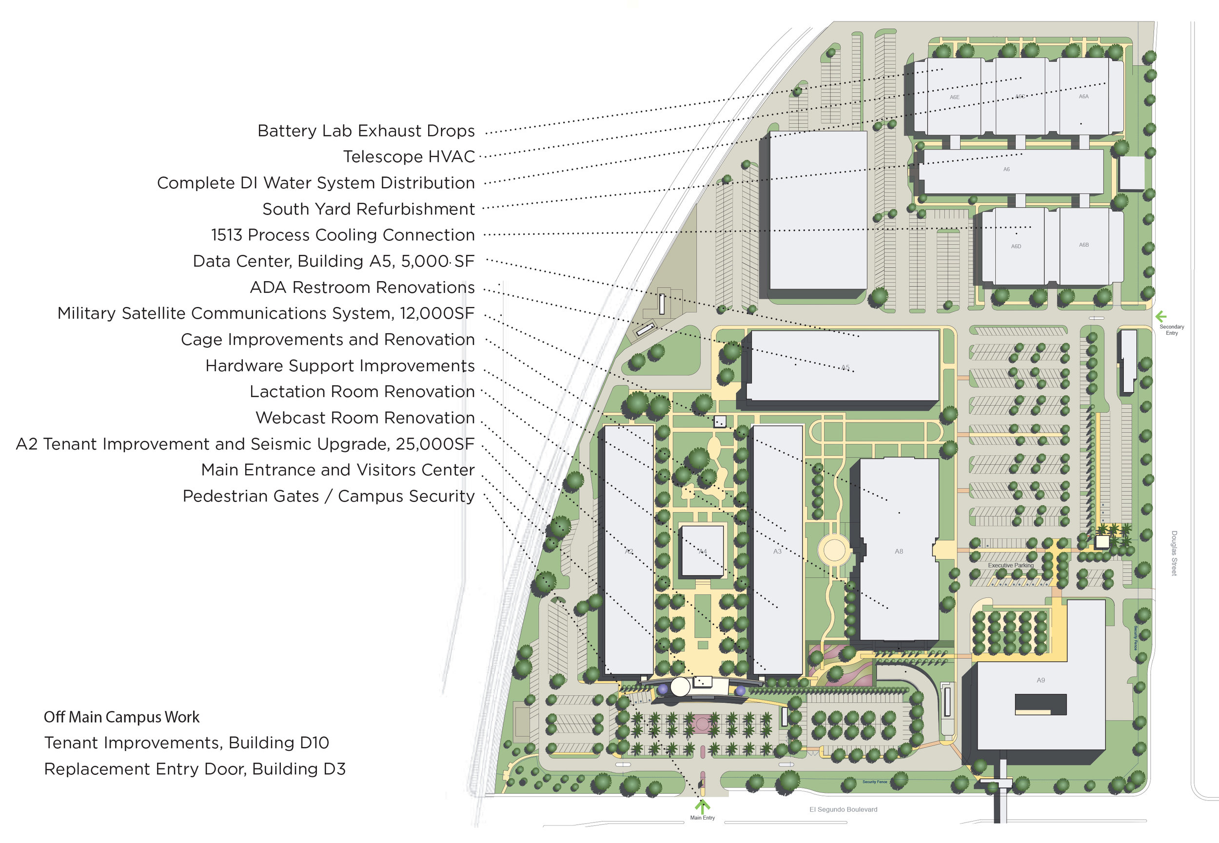 Campus Wide Improvements All Berliner Architects
