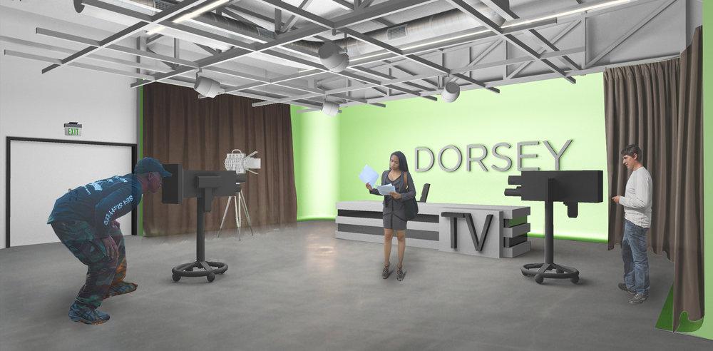 LAUSD Dorsey New Media Academy