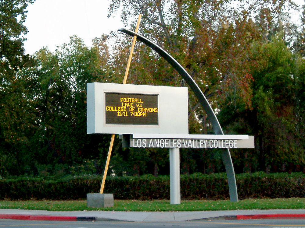 LACCD Valley College Campus Wayfinding