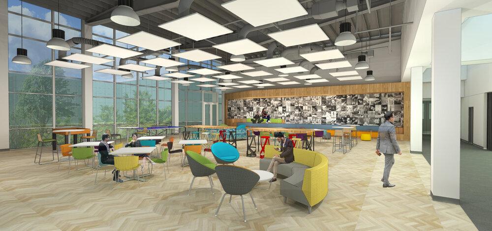Creative Office Collaborative Spaces Renovation