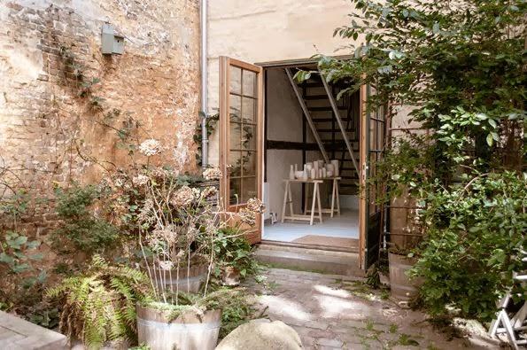 tortus courtyard