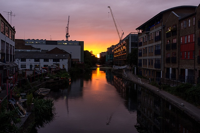 regents_canal_sunset