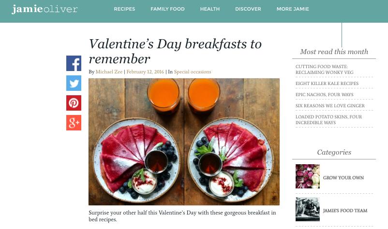 Jamie Oliver Symmetry Breakfast Handmade Plates