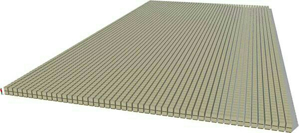 What $1,000,000,000,000 (Trillion) dollars looks like.