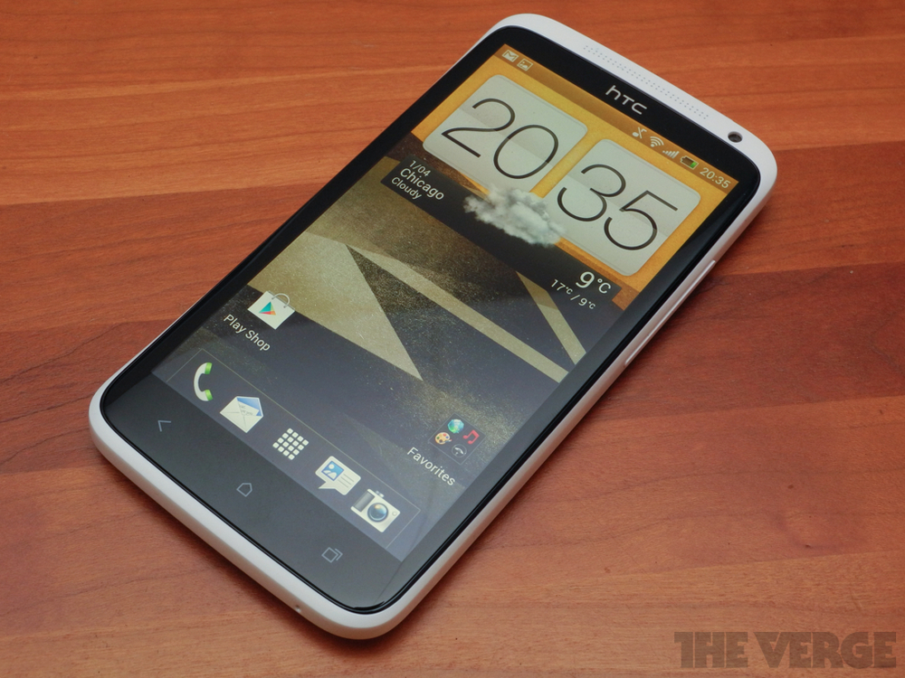 (Source: The Verge ) The 2012 HTC One X.