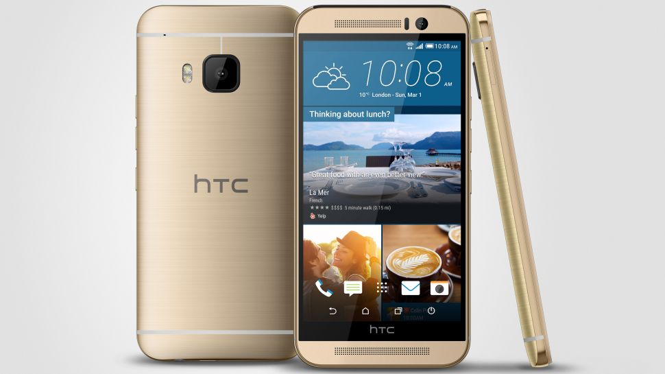 (Source:  TechRadar )  2015's HTC One M9