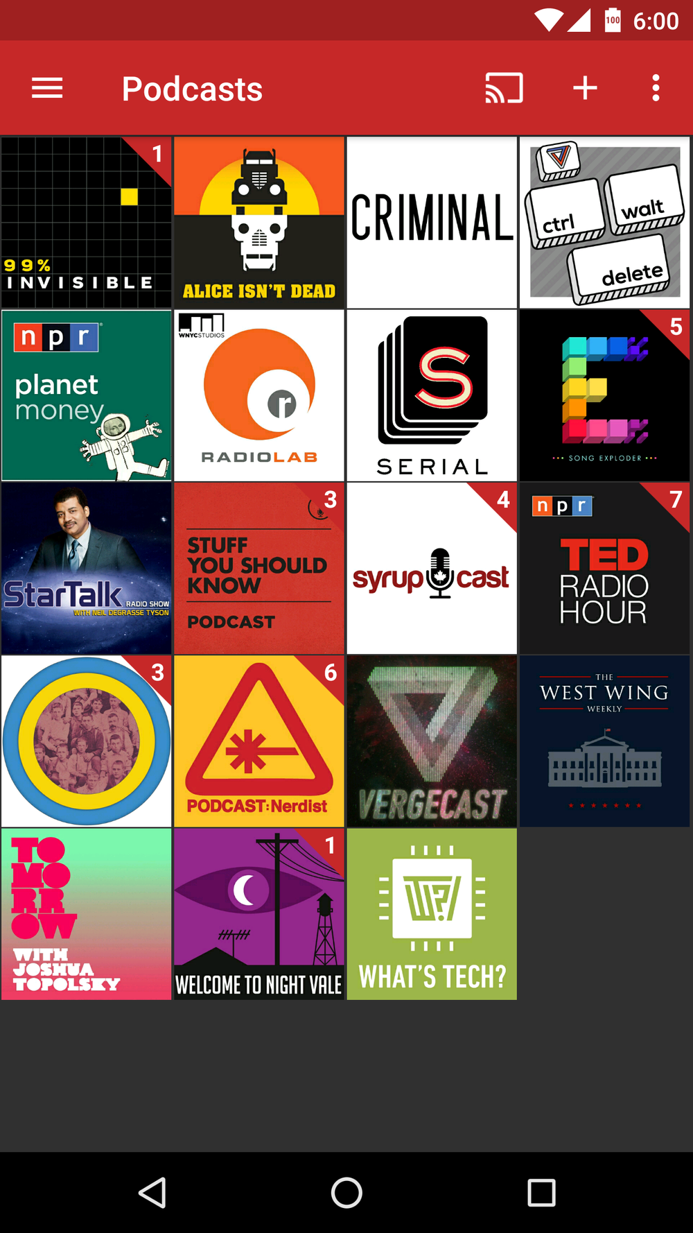 Hello, my name is Tapas, and I have an addiction to podcasts