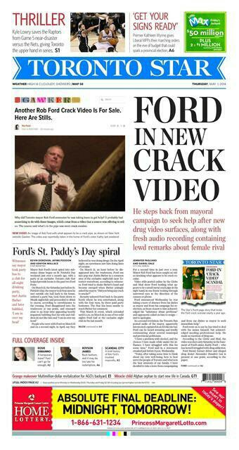 For even more hilarity, check out AUX's piece on Justin Bieber asking Rob Ford for crack cocaine at a nightclub.