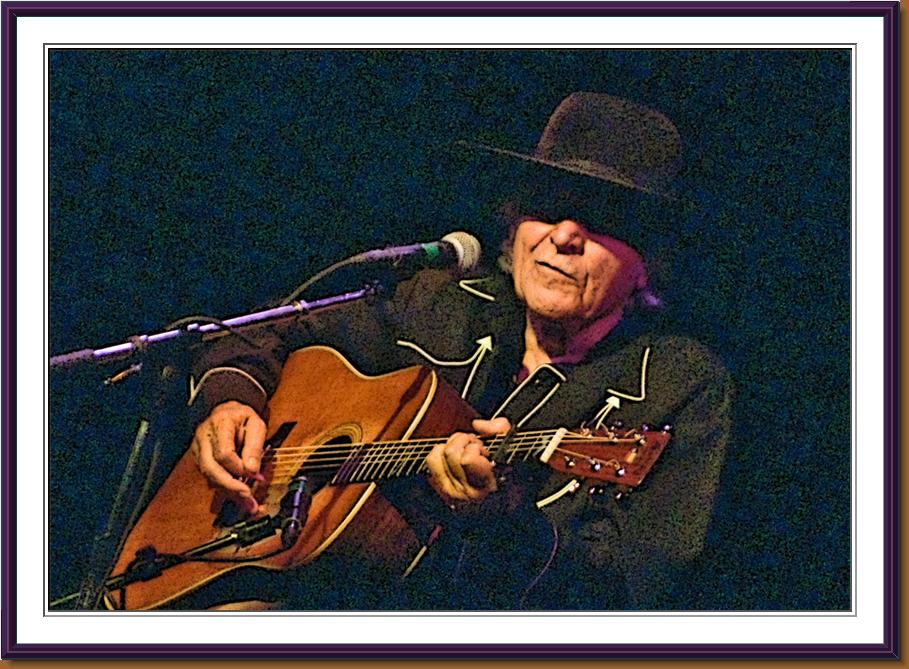Ramblin' Jack Elliott - Photo by Lynn Richter