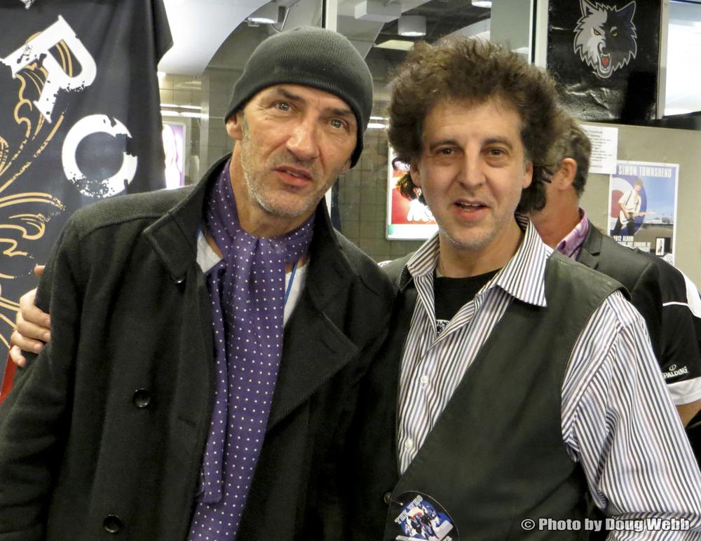 Simon Townshend and MagicMarc/ The Who / Target Center / Minneapolis, Minnesota / November 27th, 2012 / Photo by Doug Webb
