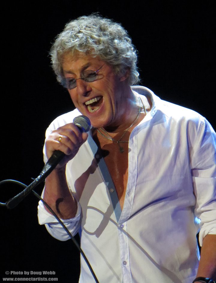 Roger Daltrey / The Who / Target Center / Minneapolis, Minnesota / November 27th, 2012 / Photo by Doug Webb