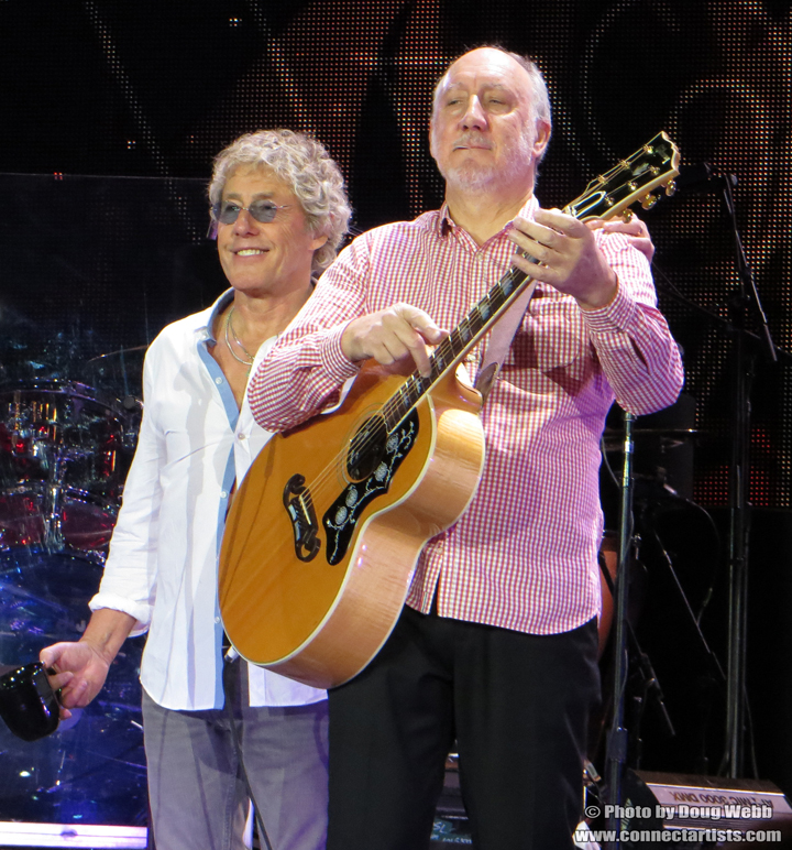 Rogert Daltrey & Pete Townshend / The Who / Target Center / Minneapolis, Minnesota / November 27th, 2012 / Photo by Doug Webb