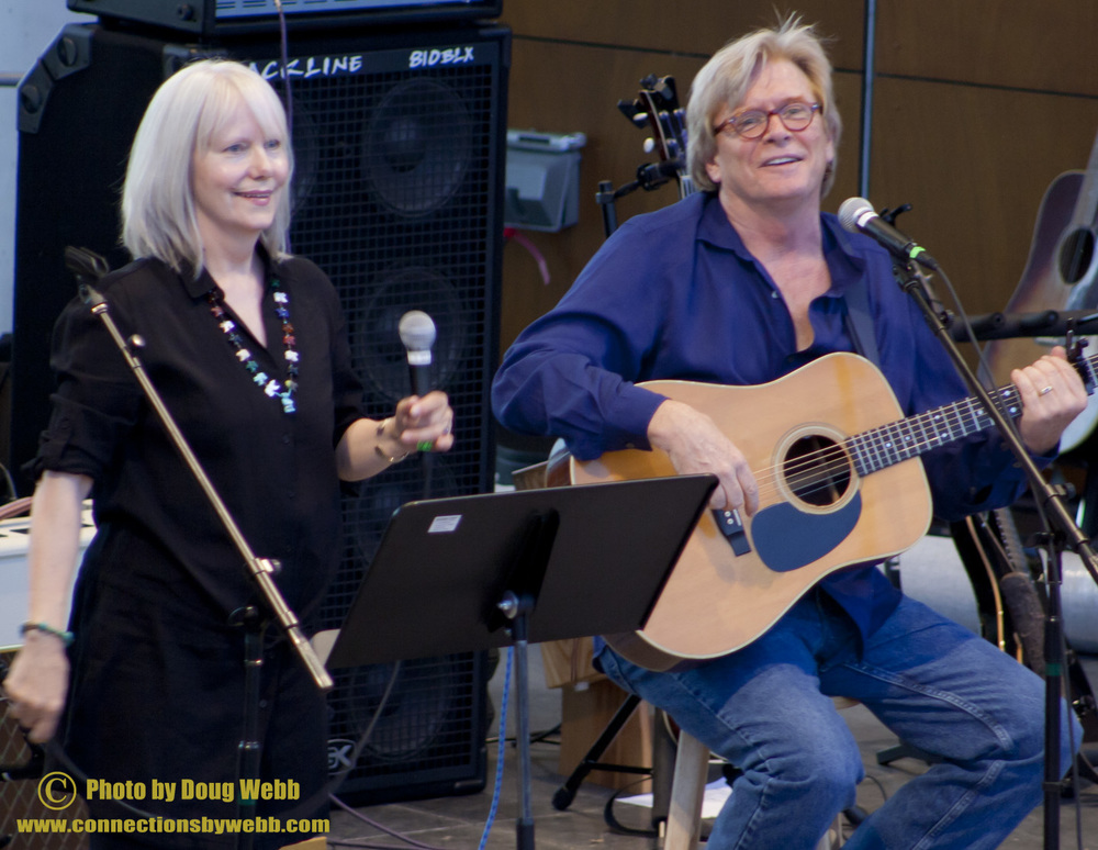 Joyce Everson and Kevin Odegard / Blood On The Tracks Live / Town Green Amphitheatre / Maple Grove, Minnesota / August 17, 2011