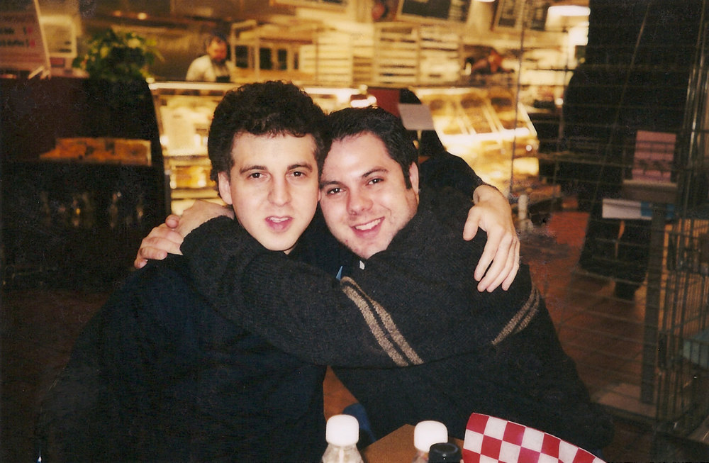 Magic Marc and Richard Gittelson Fishman's Delicatessen and Bakery / St. Louis Park, Minnesota / February 18, 2002 Photo by Sally Gittelson