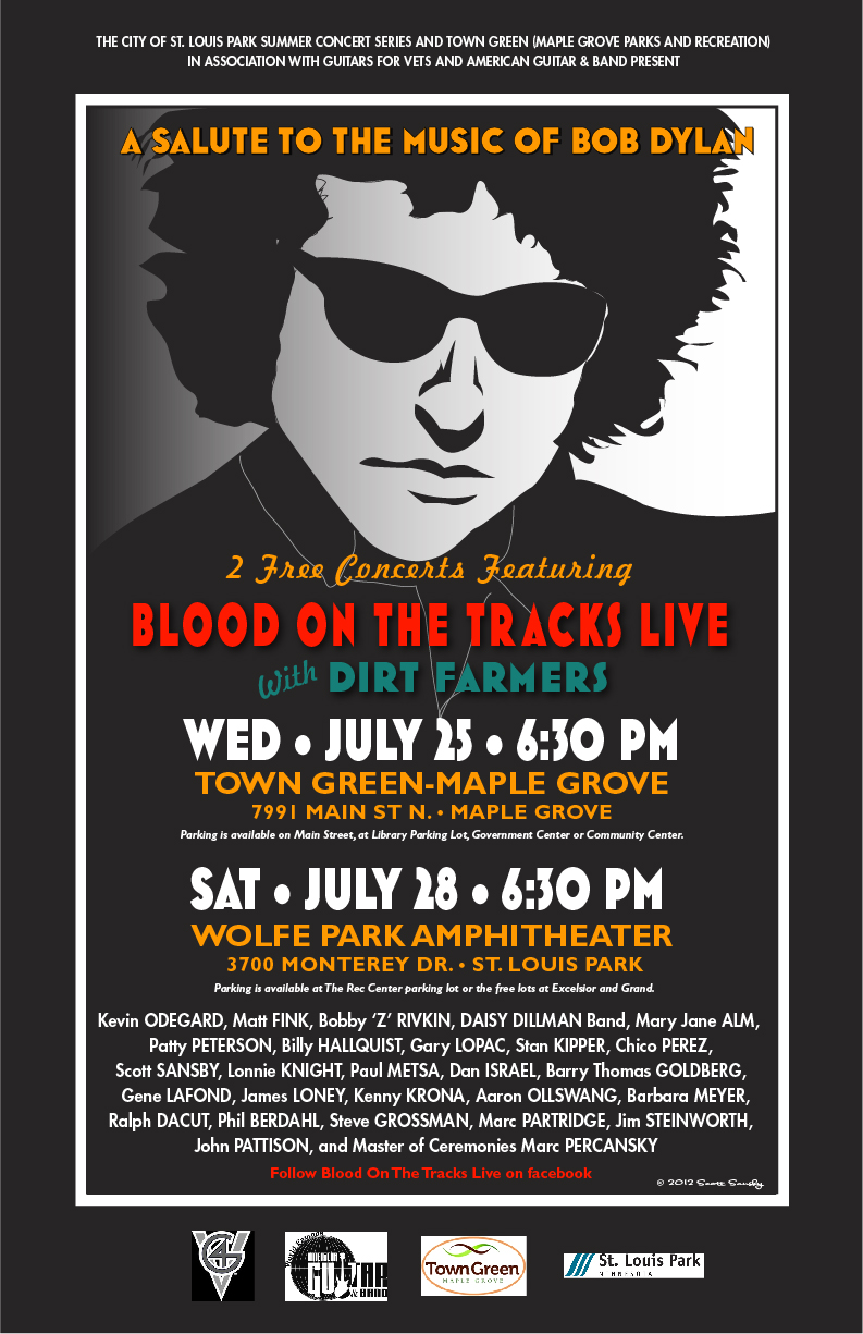 Blood on the Tracks Live 2012