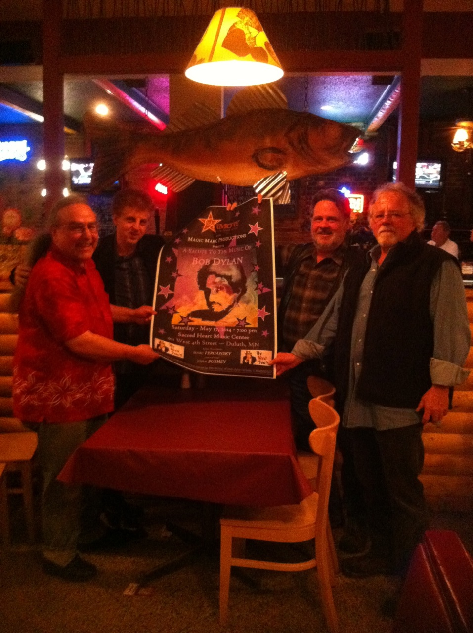 Billy Hallquist, Magic Marc, Nelson T. French and Gene LaFond / Tavern On Grand / St. Paul, Minnesota / April 28th, 2014
