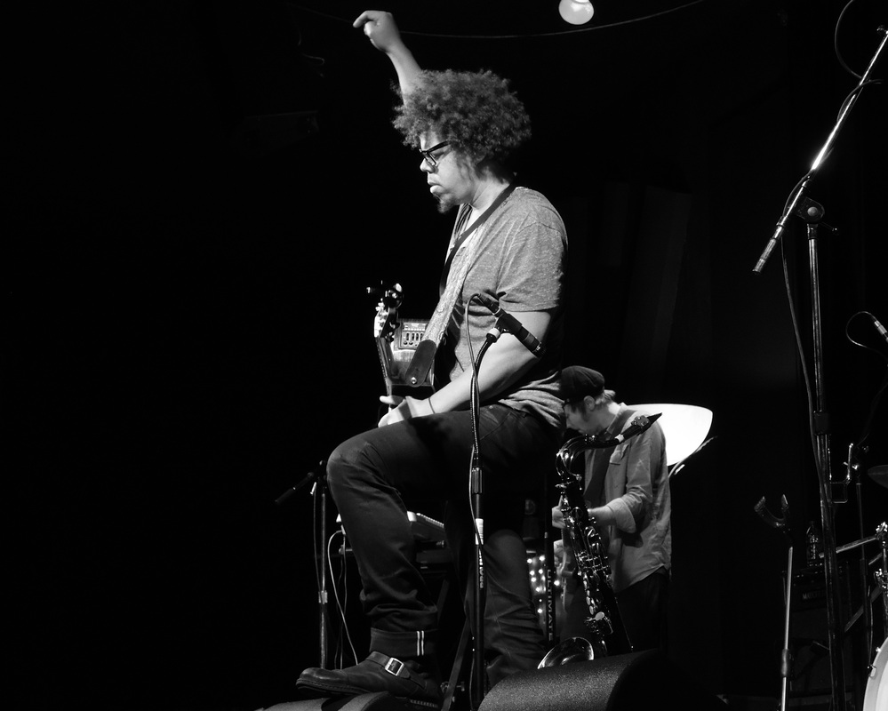 Jake Clemons and his band.