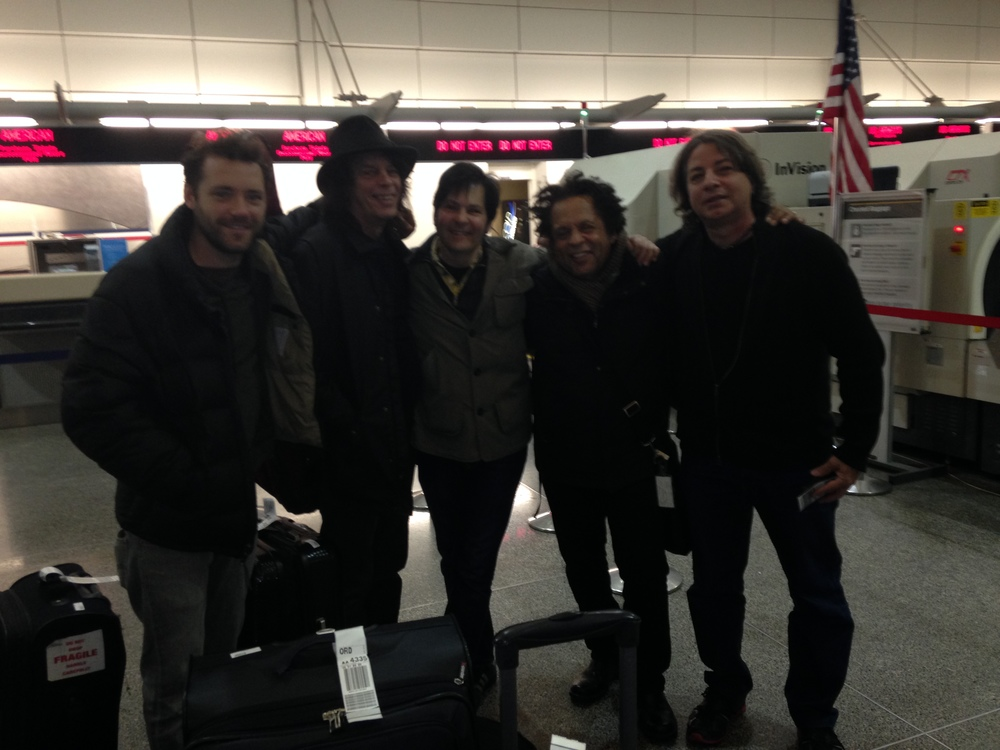 Garland Jeffreys and his Band / Leaving the Minneapolis-Saint Paul International Airport / November 16th, 2013