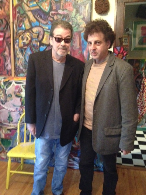 Barry Thomas Goldberg and Magic Marc @ Even Break Gallery / Minneapolis, Minnesota / October 12th, 2013 / Photo by Joanie Boeser
