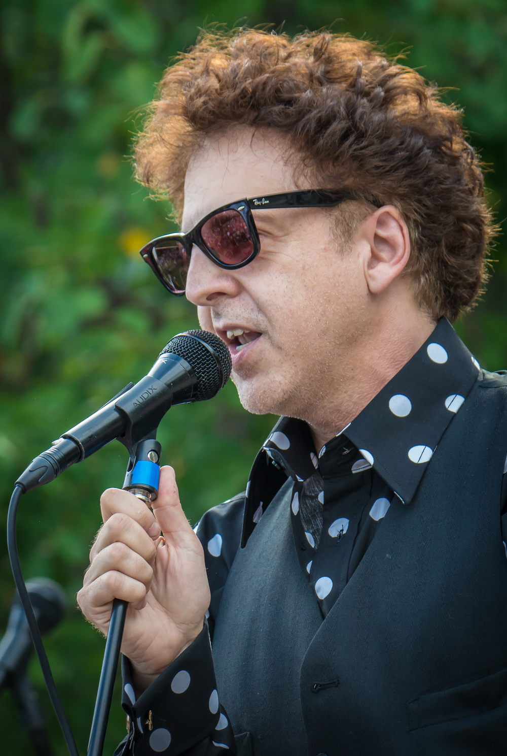 Magic Marc / Salute to the Music of Bob Dylan / The Veterans' Memorial Wolfe Park Amphitheater / St. Louis Park, Minnesota / August 9th, 2014 / Photo by Don Olson