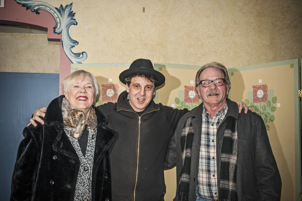 Liza Siler, Magic Marc and John Maday / Black Forest Inn / Minneapolis, Minnesota / January 29th, 2015 / Photo by Gamini Kumara