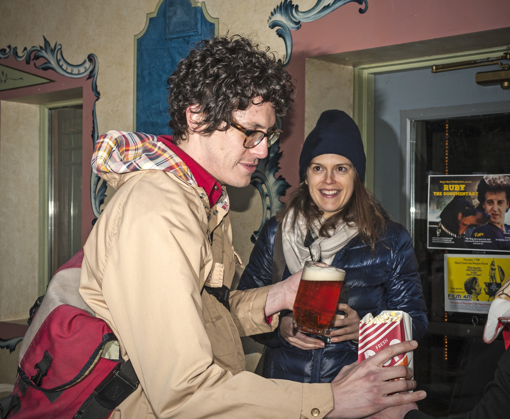 Michael Graca and Caitlin Guilford / Black Forest Inn / Minneapolis, Minnesota / January 29th, 2015 / Photo by Gamini Kumara