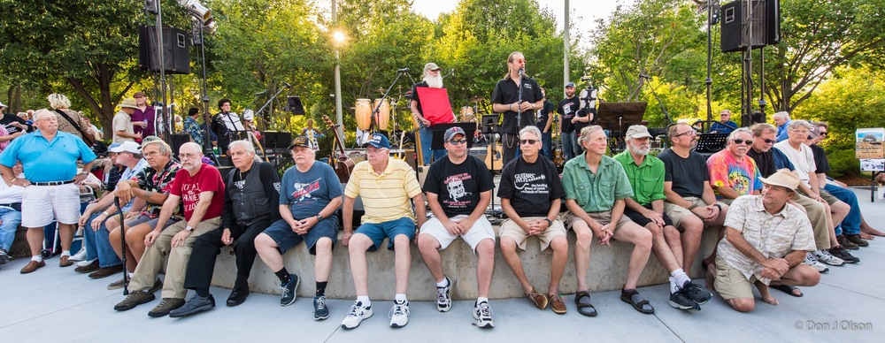 Our Veterans / The Veterans' Memorial Wolfe Park Amphitheater / St. Louis Park, Minnesota / August 1st, 2015
