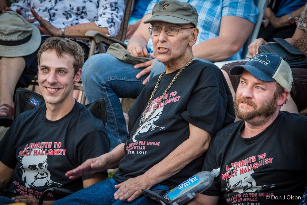 Dan, Billy and BJ Hallquist / The Veterans' Memorial Wolfe Park Amphitheater / St. Louis Park, Minnesota / August 1st, 2015
