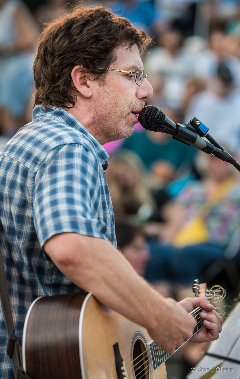 Dan Israel / The Veterans' Memorial Wolfe Park Amphitheater / St. Louis Park, Minnesota / August 1st, 2015
