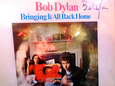 Bob Dylan personally signed & sent this for the occasion.