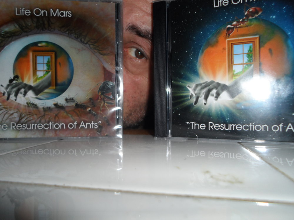 "Earl Kayoss / Life On Mars - ""The Resurrection of Ants""  CD Covers  / April 11th, 2017"