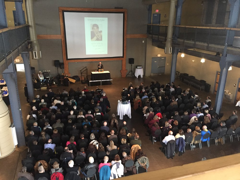 John Bushey Memorial Service - Clyde Iron Works / Duluth, Minnesota / February 19th, 2018 / Photo by Nelson T. French