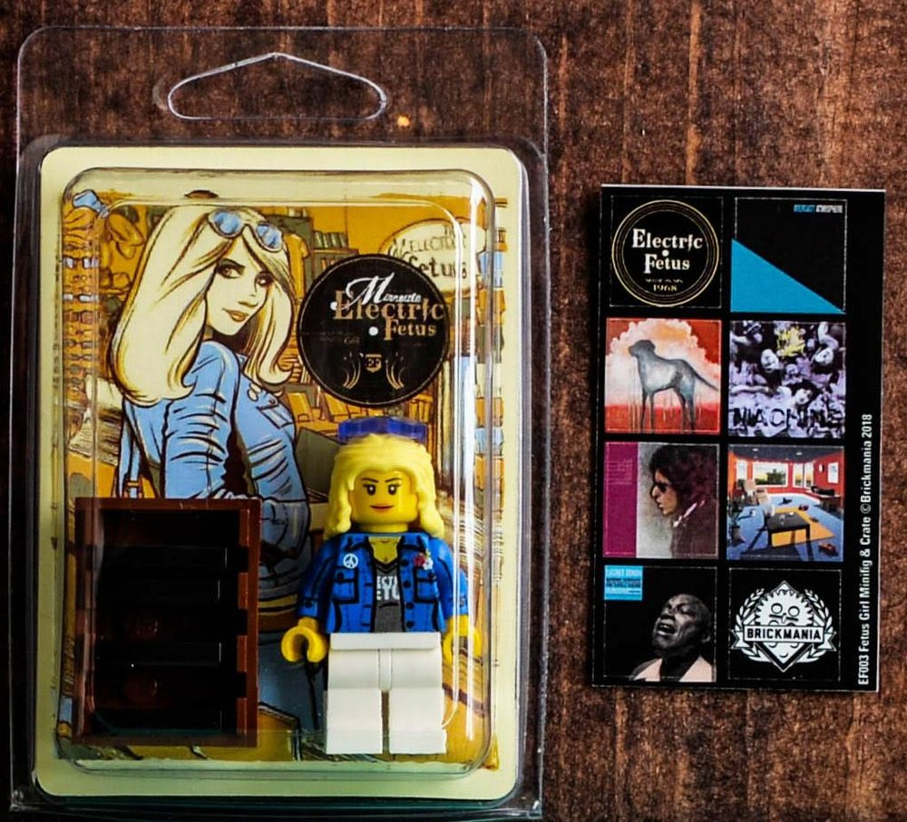 Electric Fetus debuts 'Fetus Girl' Lego set