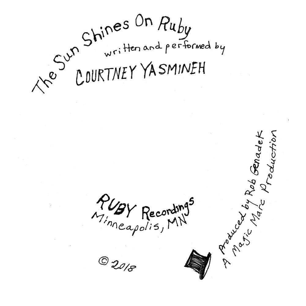 The Sun Shines On Ruby by Courtney Yasmineh - CD Center.jpg