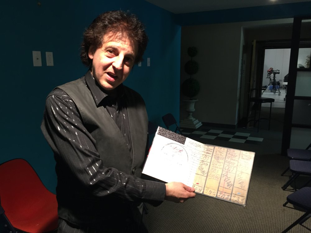 Magic Marc with the Sound 80 Studio Session Reel - Wall Of Power TV - Bob Dylan's More Blood, More Tracks - The Minneapolis Sessions  Metro Cable Network - Channel 6  Minneapolis, MN / October 23rd, 2018 / Photo by Nelson T. French