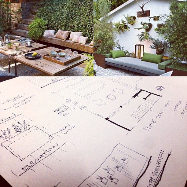 Designing my own space for once! #kzantosdesign