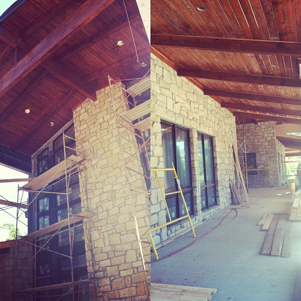Construction Update. #kzantosdesign #ruskranch