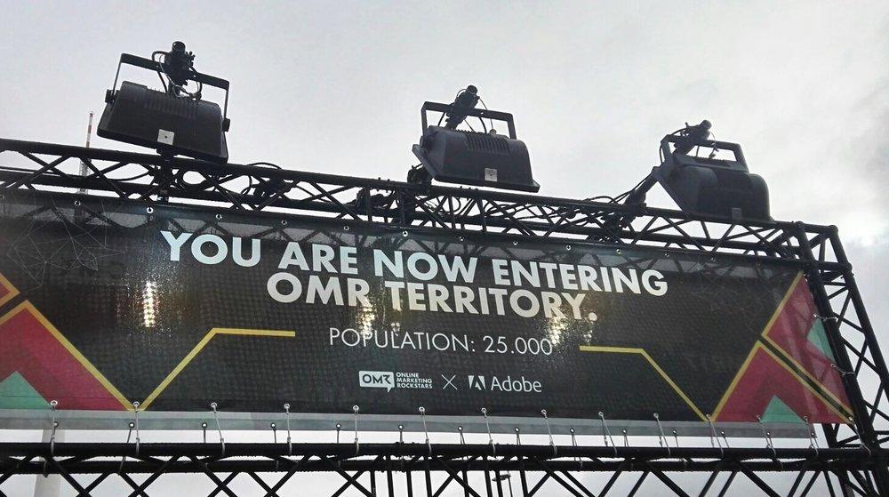 Entering #OMR17