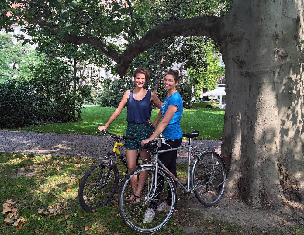 Sandra und Christina von TiMMi Transport