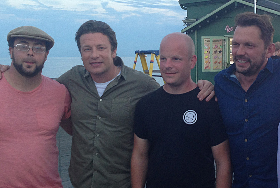 Jamie Oliver, Jimmy Doherty and Dorset Charcuterie